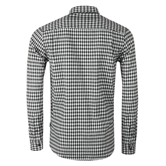 Carhartt WIP Mens Black Stawell Check Long Sleeve Shirt main image