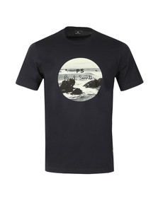 PS Paul Smith Mens Blue S/S Surf Tee