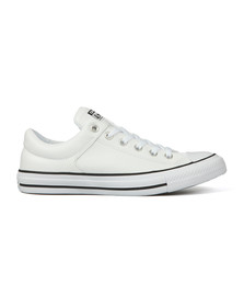 Converse Mens White CT High Street Leather Ox
