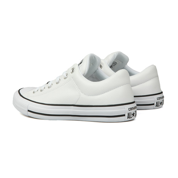 Converse Mens White CT High Street Leather Ox main image