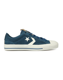 Converse Mens Blue Star Player Suede Ox