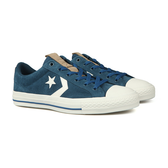 Converse Mens Blue Star Player Suede Ox main image