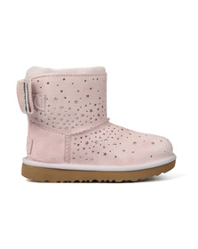 Ugg Girls Pink Stargirl Classic Mini Bow Boot