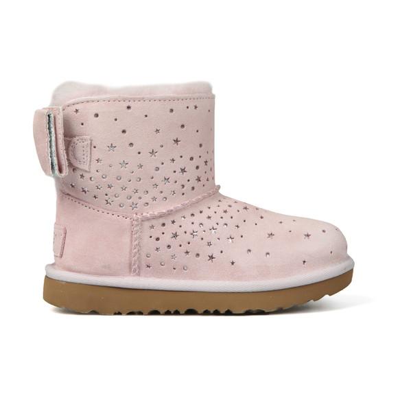 Ugg Girls Pink Stargirl Classic Mini Bow Boot main image