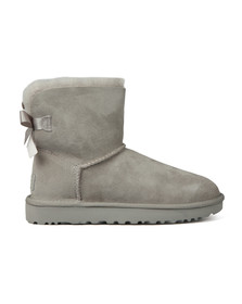 Ugg Womens Grey Mini Bailey Bow II Boot