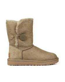 Ugg Womens Brown Bailey Button II Boot