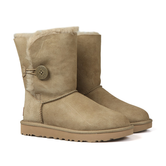 Ugg Womens Brown Bailey Button II Boot main image