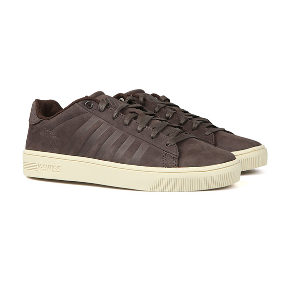 K Swiss Mens Grey Court Frasco Trainer main image