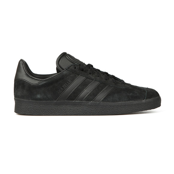Adidas Originals Mens Black Gazelle Trainer main image