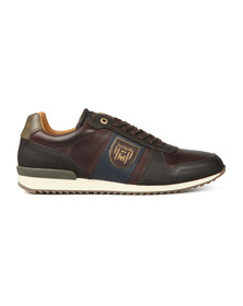 Pantofola d'Oro Mens Brown Umito Low Trainer