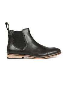 Superdry Mens Black Premium Meteora Chelsea Boot