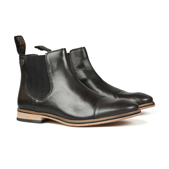 Superdry Mens Black Premium Meteora Chelsea Boot main image