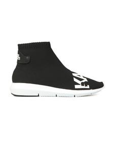 Karl Lagerfeld Womens Black Vitesse Legere Ankle Boot