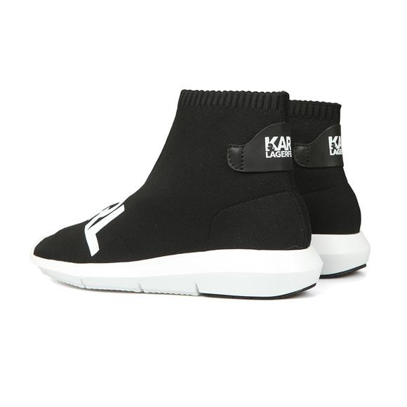 Karl Lagerfeld Womens Black Vitesse Legere Ankle Boot main image