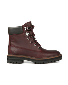 Timberland Womens Red London Square 6 Inch Boot