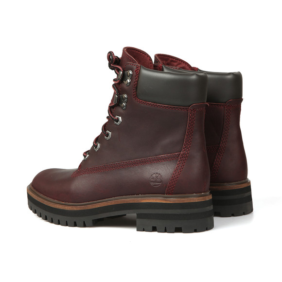 Timberland Womens Red London Square 6 Inch Boot main image