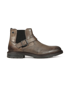 Base London Mens Grey Morrow Boot