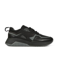HUGO Mens Black Atom Runner