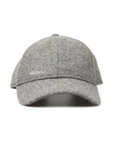 Barbour Lifestyle Mens Grey Coopworth Sports Cap