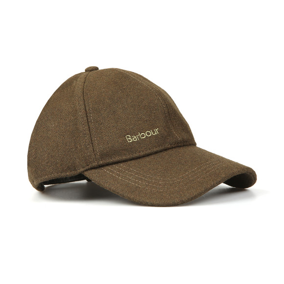 Barbour Lifestyle Mens Green Coopworth Sports Cap main image