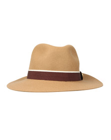 Holland Cooper Womens Brown Grayson Trilby Hat