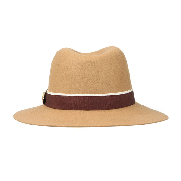 Holland Cooper Womens Brown Grayson Trilby Hat main image