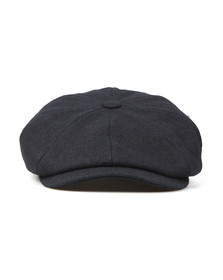Luke Mens Blue The Garrison Flat Cap