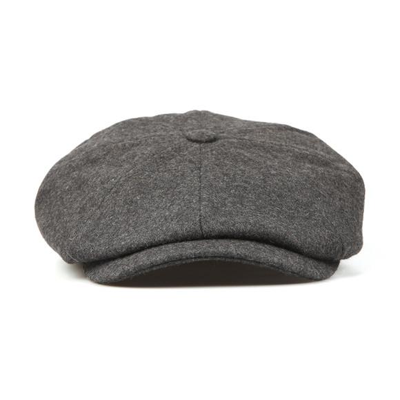 Luke 1977 Mens Grey The Garrison Flat Cap