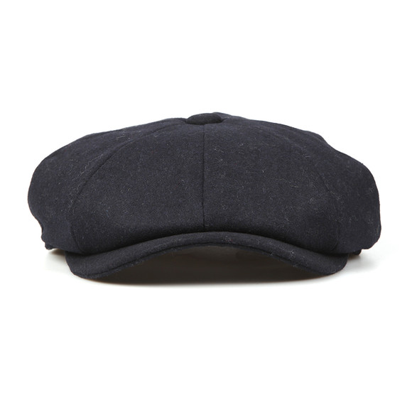 Barbour Lifestyle Mens Blue Melton Bakerboy Cap main image