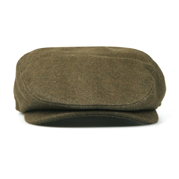 Barbour Lifestyle Mens Green Redshaw Flat Cap main image