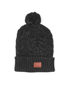 Superdry Mens Black Jacob Beanie
