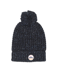 Superdry Womens Blue Clarrie Stitch Beanie