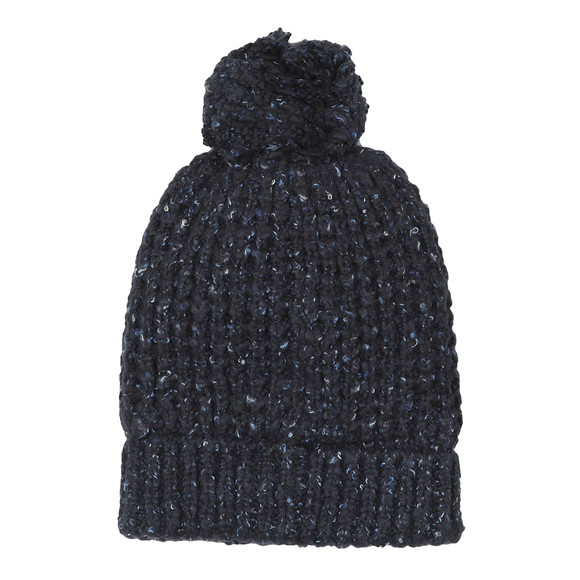 Superdry Womens Blue Clarrie Stitch Beanie main image