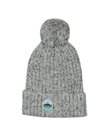 Superdry Womens Grey Clarrie Stitch Beanie