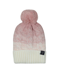 Superdry Womens Pink Clarrie Beanie