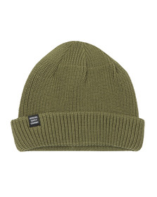 Herschel Mens Green Acrylic Buoy Hat