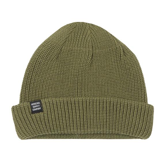 Herschel Mens Green Acrylic Buoy Hat main image