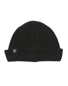 Herschel Mens Black Acrylic Buoy Hat