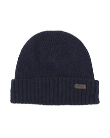 Barbour Lifestyle Mens Blue Carlton Beanie