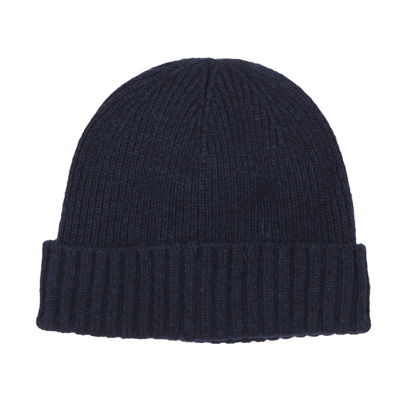 Barbour Lifestyle Mens Blue Carlton Beanie main image
