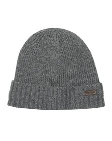 Barbour Lifestyle Mens Grey Carlton Beanie