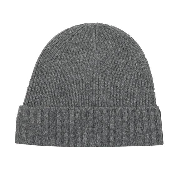 Barbour Lifestyle Mens Grey Carlton Beanie main image