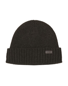 Barbour Lifestyle Mens Green Carlton Beanie