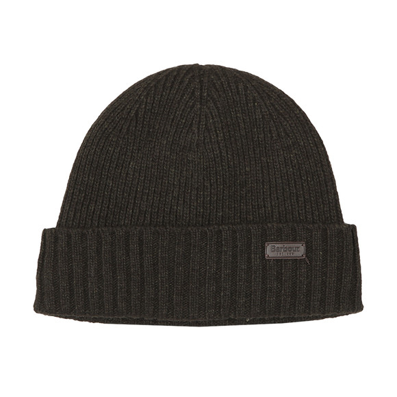 Barbour Lifestyle Mens Green Carlton Beanie main image