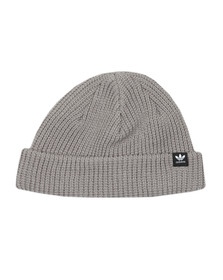adidas Originals Mens Grey Short beanie