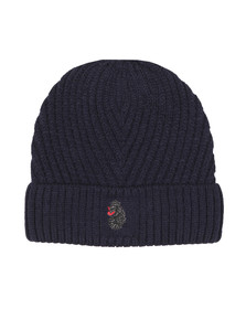 Luke Mens Blue OSH Beanie