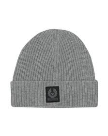 Belstaff Mens Grey Seabrook Hat