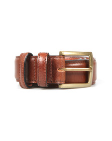 Barbour Lifestyle Mens Brown Belt Giftbox