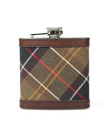 Barbour Lifestyle Mens Brown Hip Flask
