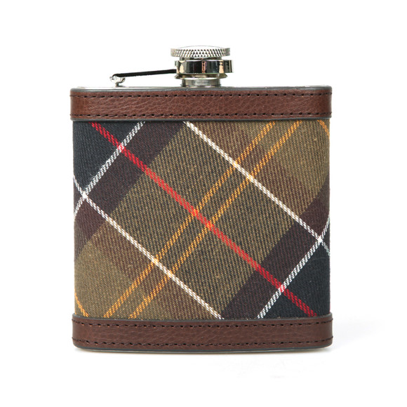 Barbour Lifestyle Mens Brown Hip Flask main image
